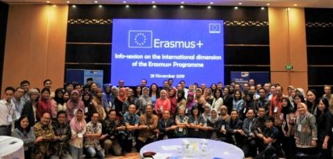 Pemerintah Harap Erasmus Datangkan Mahasiswa Asing ke Indonesia