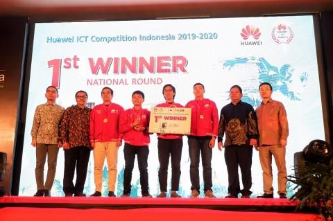 ITB Juarai Huawei ICT Competition 2019-2020 Tingkat Nasional