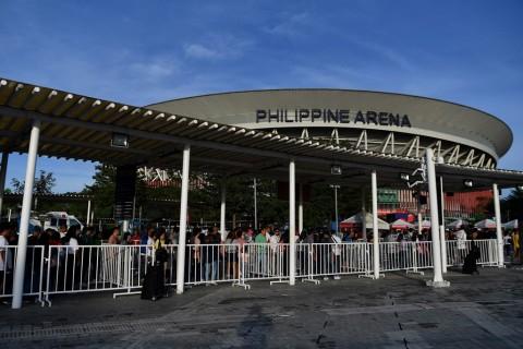 Upacara Pembukaan SEA Games, Penjagaaan Philippine Arena Diperketat