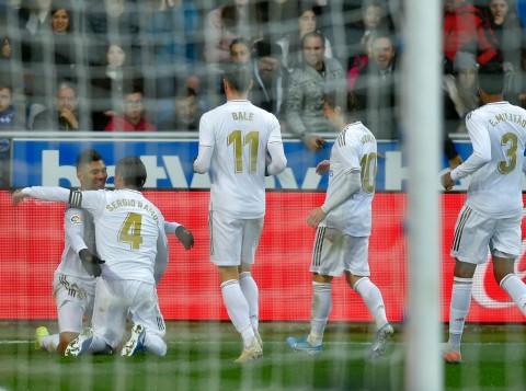 Real Madrid Kesulitan Redam Alaves