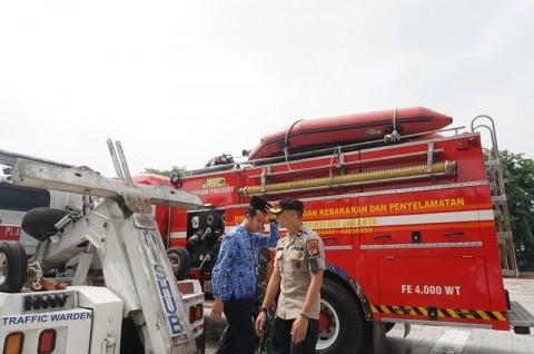 Polsek Kelapa Gading Antisipasi Banjir