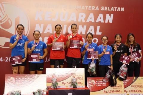 DKI Jakarta Juara Umum Kejurnas PBSI 2019