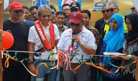 Komunitas Jetski Bangun Rumah Pintar di Kepuauan Seribu
