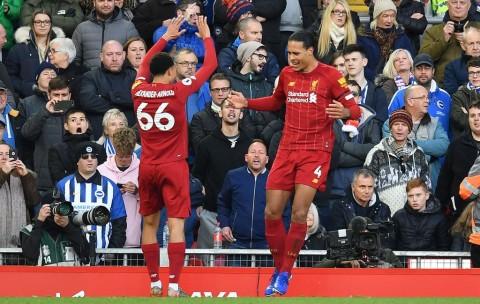 Sejumlah Fakta Menarik Usai Liverpool Kalahkan Brighton