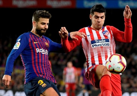 Jadwal Liga Top Eropa Nanti Malam: Atletico Madrid  vs Barcelona