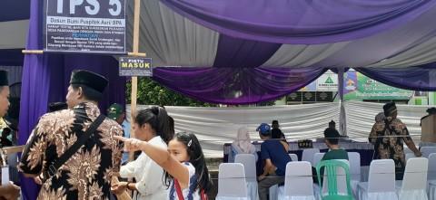 Warga Tangerang Antusias Ikut Pilkades