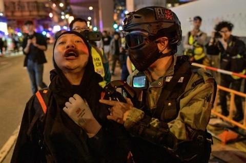 Pedemo Hong Kong Kembali ke Jalanan usai Jeda Pemilu
