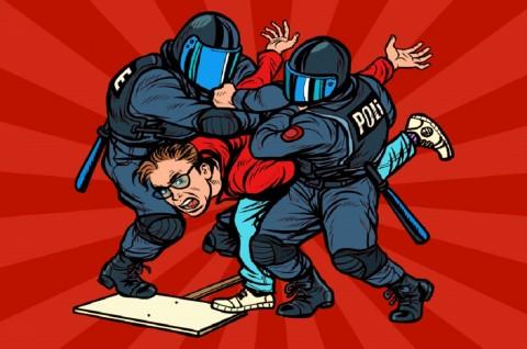 Polisi Tiongkok Pukuli Pedemo di Provinsi Guangdong
