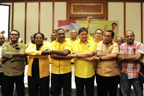 DPD Golkar Papua Deklarasi Kembali Dukung Airlangga Hartarto