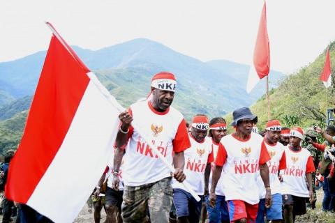 <i>Papua Tetap NKRI</i>