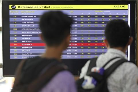 Jadwal Keberangkatan Kereta Api Berubah Sejak 1 Desember
