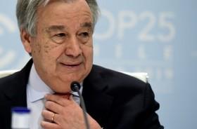 Sekjen PBB Sebut Krisis Iklim Sudah di Depan Mata