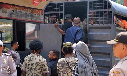 20 Orang Ditetapkan Tersangka Makar di Papua