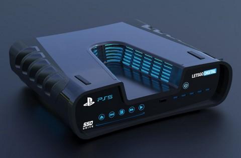 Bocoran Anyar Penampakan PlayStation 5