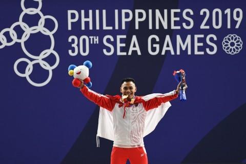 SEA Games 2019: Eko Yuli Persembahkan Medali Emas