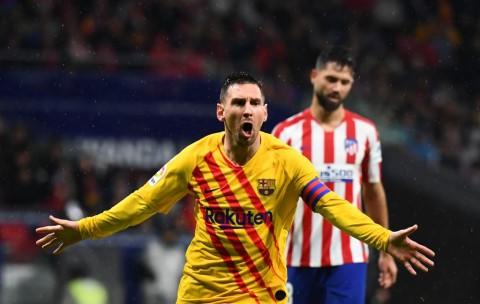 Barcelona Taklukkan Atletico, Valverde Sanjung Messi