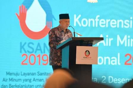 Ma'ruf Minta Pembangunan Jaringan Pipa Air Minum Dikebut
