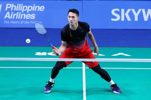 Jonatan Christie Bawa Indonesia Unggul 1-0 atas Thailand