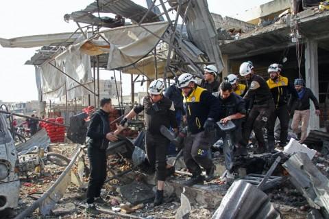 10 Warga Sipil Suriah Tewas dalam Serangan Udara Pemerintah