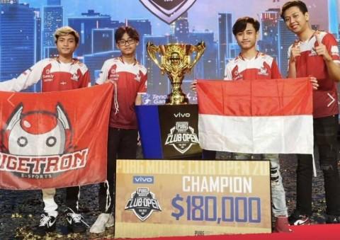 Bigetron Bawa Indonesia Juara Dunia PUBG, Raup Rp2,5 Miliar