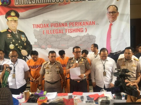 Polisi Gagalkan Penyelundupan 10 Ribu Benih Lobster