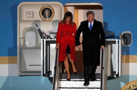 Trump Tiba di London untuk Hadiri KTT NATO