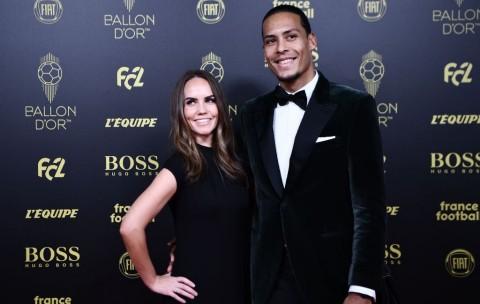 Ejekan Van Dijk Soal Ronaldo Absen di Acara Ballon d'Or