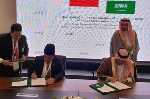 Menag RI dan Saudi Bahas Kenaikan Kuota Haji 2020