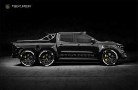Mercedes-Benz X-Class jadi Mobil Pengaman Lintasan ala Carlex Design