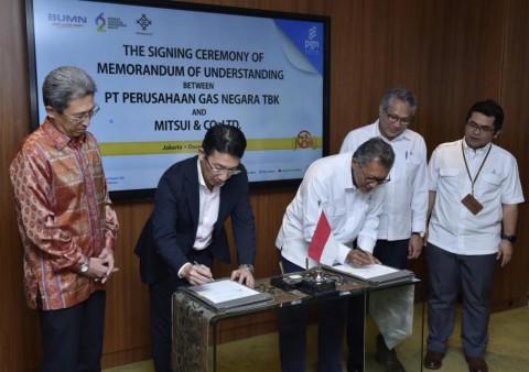 PGN Gandeng Mitsui Kembangkan Bisnis dan Infrastruktur Gas Bumi