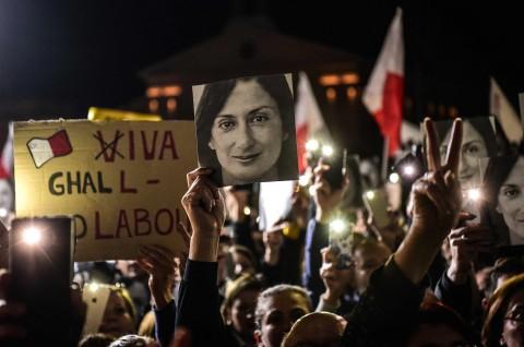 Pedemo Ingin PM Malta Secepatnya Mengundurkan Diri