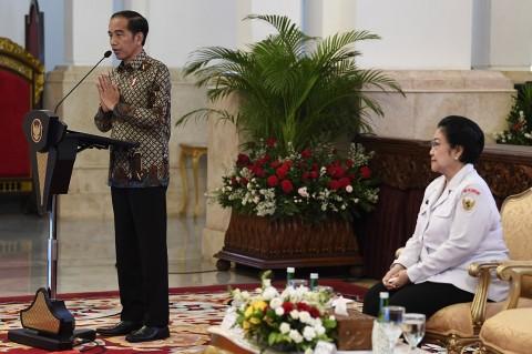 Jokowi: Narasi Besar Pancasila Harus Banjiri Medsos