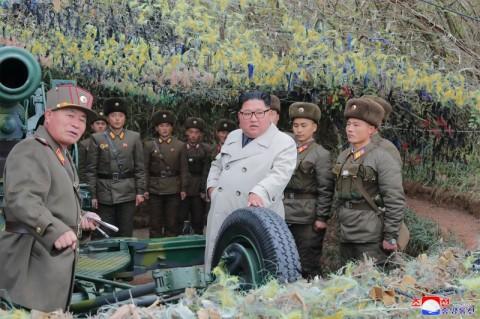 Kim Jong-un Buka Pembangunan Kota Baru di Pegunungan