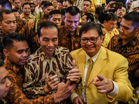 Airlangga Puji Komitmen Jokowi soal Masa Jabatan Presiden