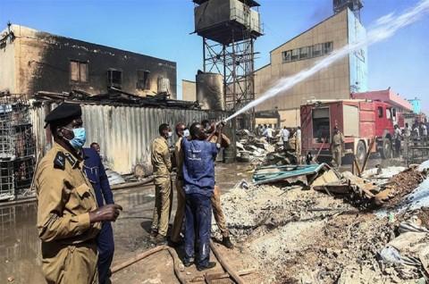 Ledakan di Pabrik Ubin Sudan Tewaskan 23 Orang