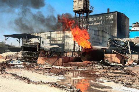 23 Tewas Akibat Kebakaran Pabrik Keramik di Sudan