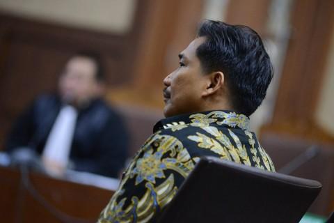 Politikus Golkar Bowo Sidik Hadapi Vonis