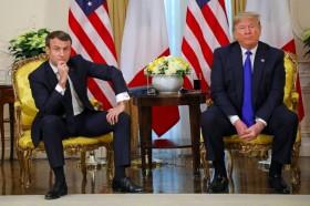 Trump dan Macron Bentrok Pada KTT NATO di London