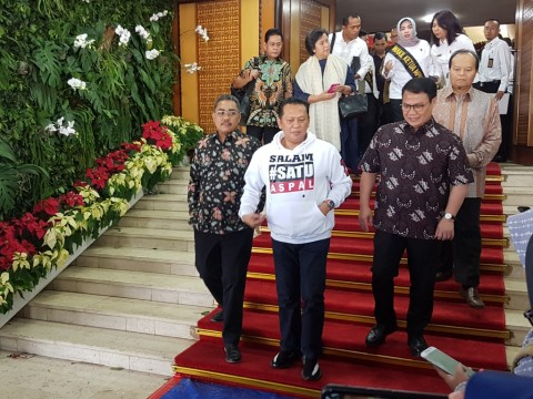 Bamsoet Instructs His Supporters to Maintain Golkar's Unity