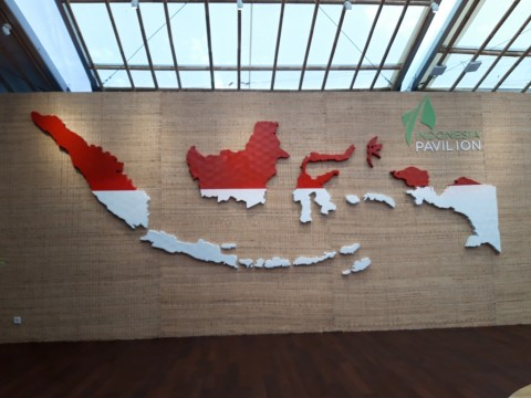 Indonesian Pavilion at 2020 Dubai Expo Continues to be Prepared