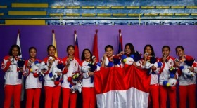 Indonesian Athletes Unaffected by Hurricane Kammuri in Philippines