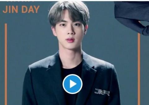 Trending, Penggemar Rayakan Ulang Tahun Jin BTS