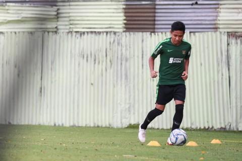 Evan Dimas Tuntut Timnas U-23 Fokus Hadapi Skema Bertahan Laos