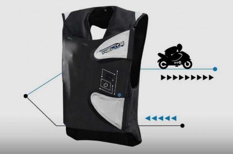 Helite Bikin Rompi Pakai Teknologi Airbag, Biker Lebih Aman