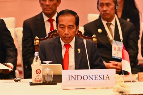 Jokowi Dinobatkan sebagai Tokoh Asia 2019