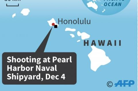 Penembakan di Pearl Harbor, 3 Terluka, Pelaku Bunuh diri