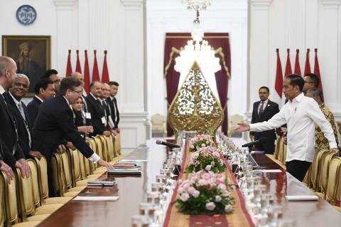 Jokowi Terima Delegasi Dewan Bisnis AS-ASEAN