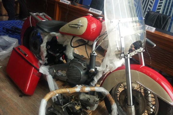 Ini Harley dan Brompton yang Diselundupkan di Garuda Indonesia