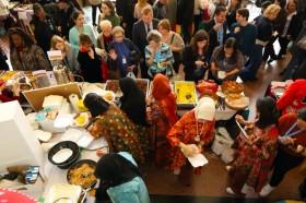 Kerajinan dan Makanan Khas Indonesia Laku Keras di Kantor PBB