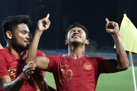SEA Games 2019: Bantai Laos, Timnas U-23 ke Semifinal